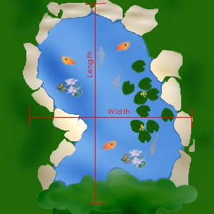 free pond liner calculator